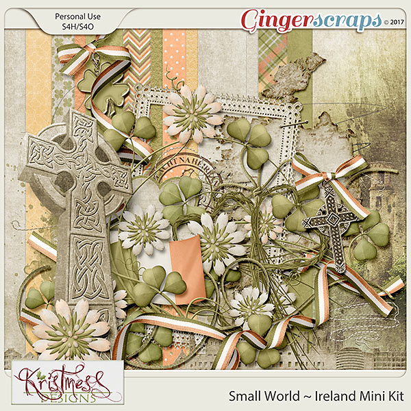 Small World ~ Ireland Mini Kit