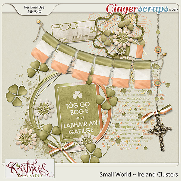 Small World ~ Ireland Clusters
