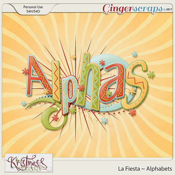 La Fiesta Alphabets
