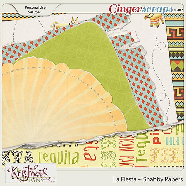 La Fiesta Shabby Papers
