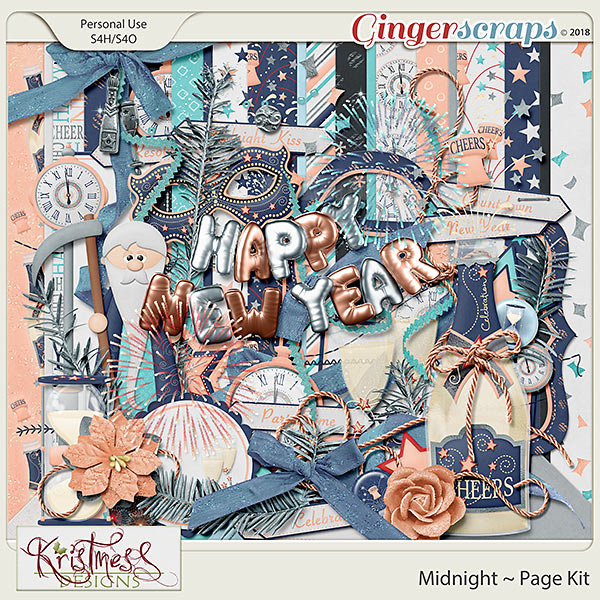 Midnight Page Kit