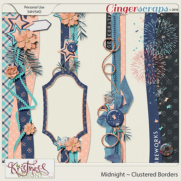 Midnight Clustered Borders