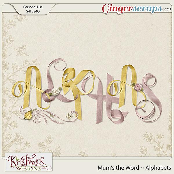 Mum's the Word Alphabets