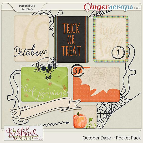 October Daze Pocket Pack