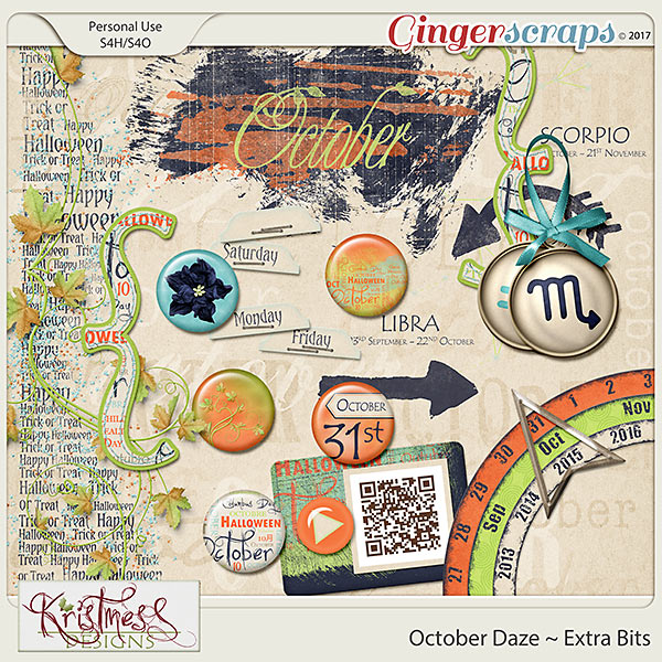 October Daze Extra Bits