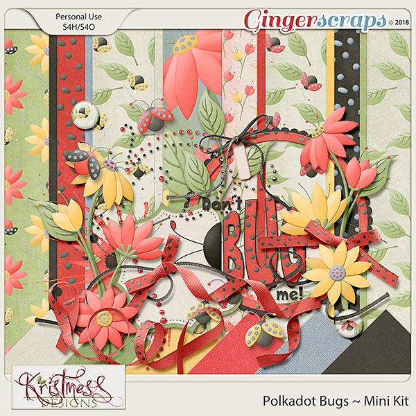 Polkadot Bugs Mini Kit