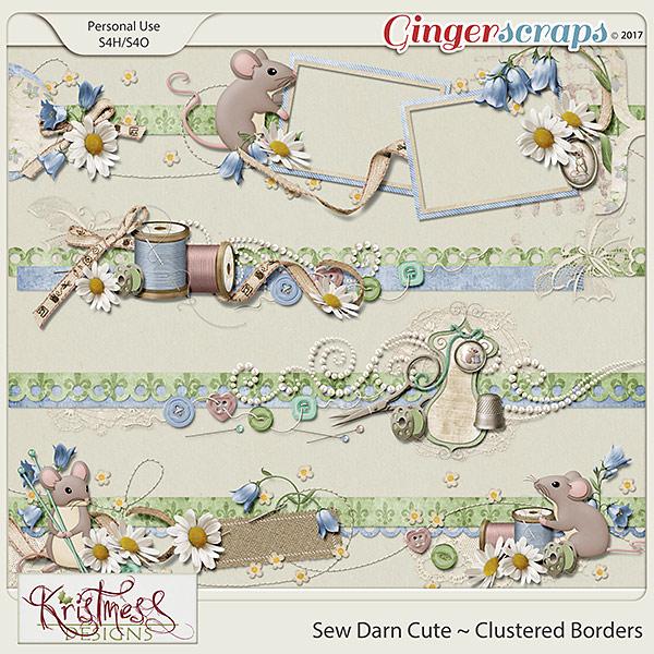 Sew Darn Cute Clustered Borders