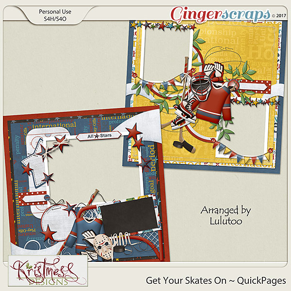 Get Your Skates On QuickPages
