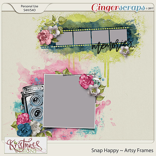 Snap Happy Artsy Frames