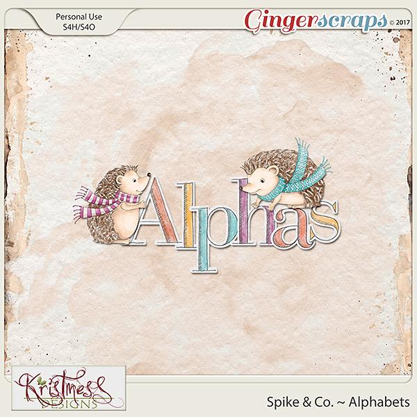 Spike & Co. Alphabets