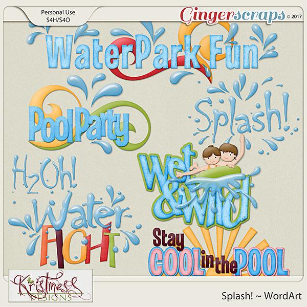 Splash! WordArt