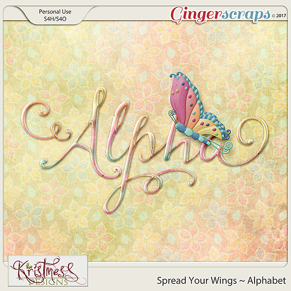 Spread Your Wings Alphabet