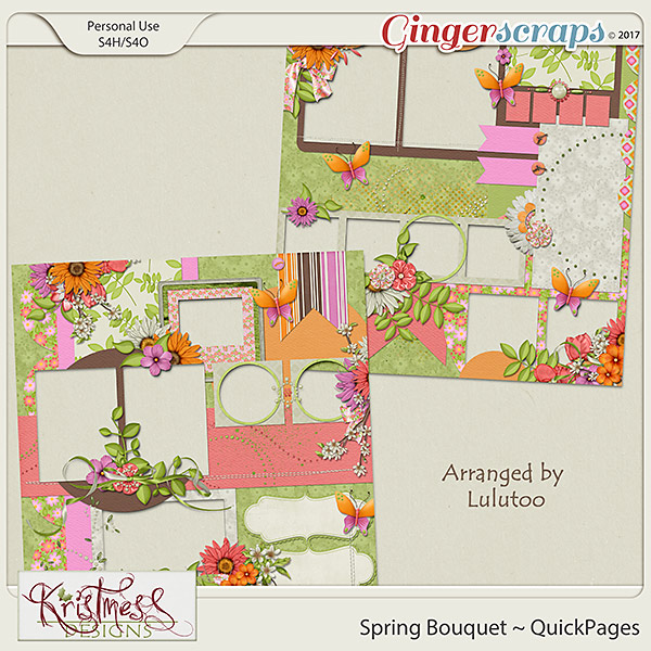 Spring Bouquet QuickPages