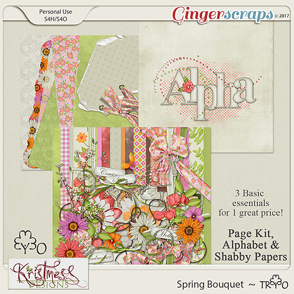 Spring Bouquet Trio
