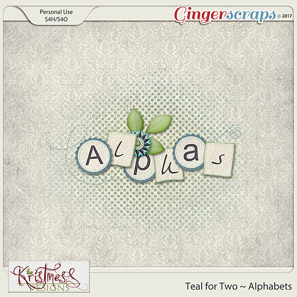 Teal for Two Alphabets