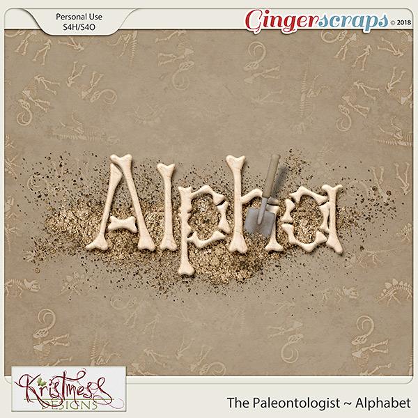 The Paleontologist Alphabet