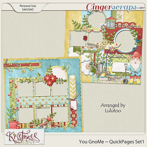 You GnoMe QuickPages Set 1