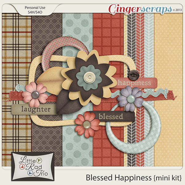 Blessed Happiness {mini kit}