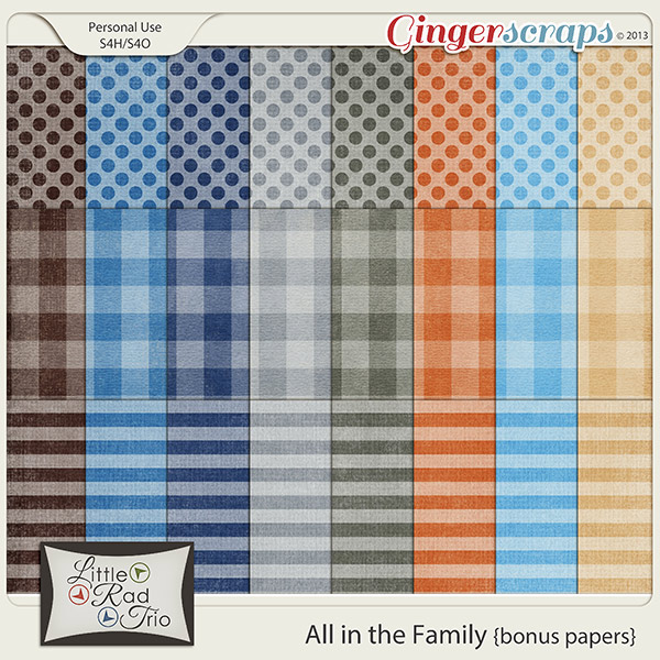 All in the Family {bonus papers}