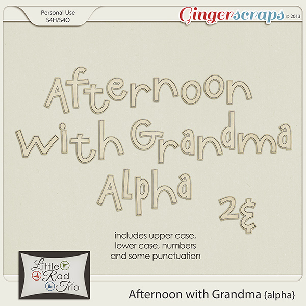 Afternoon with Grandma {alpha}
