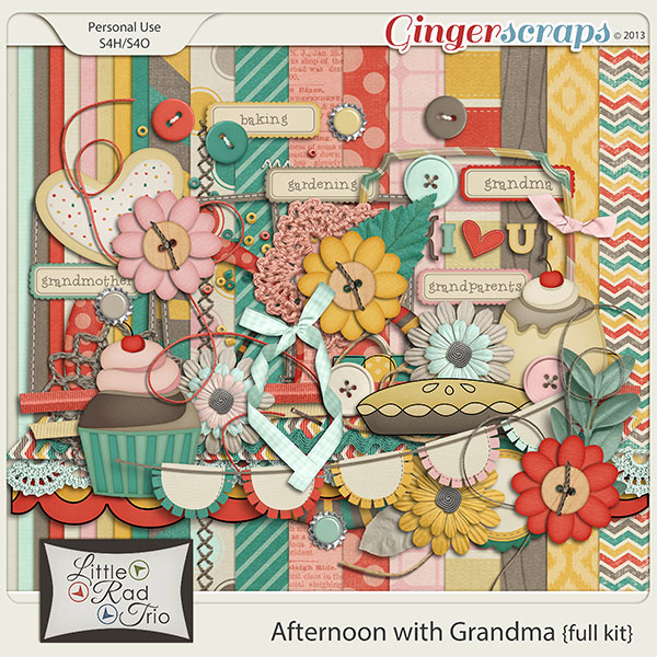 Afternoon with Grandma {full kit}