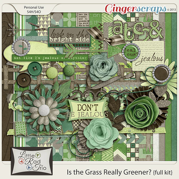 Is the Grass Really Greener {full kit}
