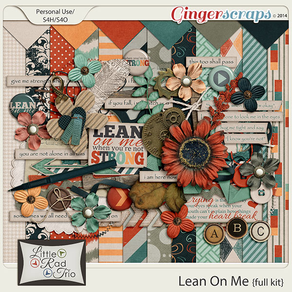 Lean on Me by Little Rad Trio