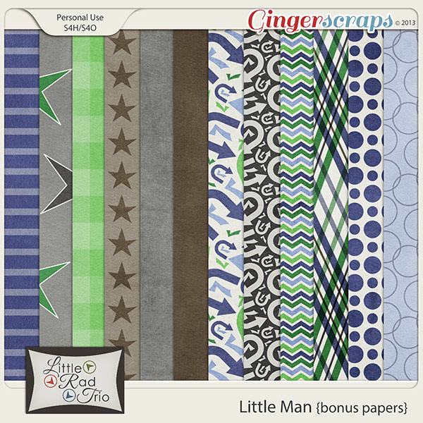 Little Man {bonus papers}