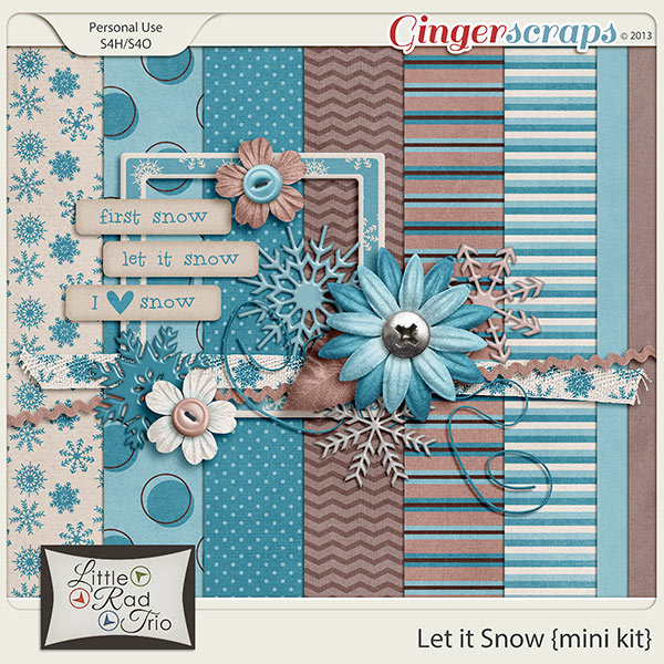Let It Snow {mini kit}