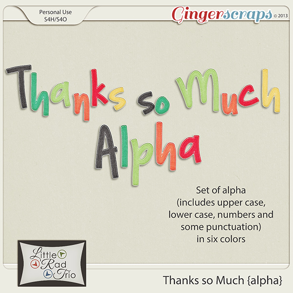Thanks so Much {alpha}