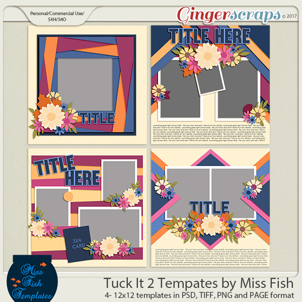 Tuck It 2 Templates by Miss Fish