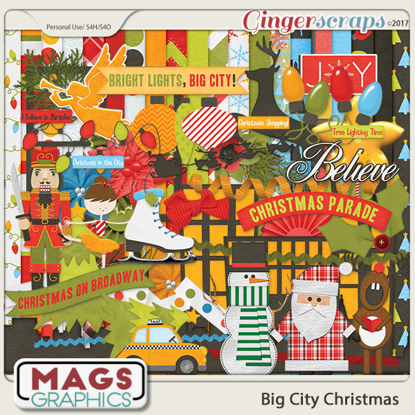 Big City Christmas KIT by MagsGraphics