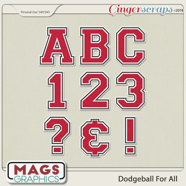 Dodgeball For All ALPHA by MagsGraphics
