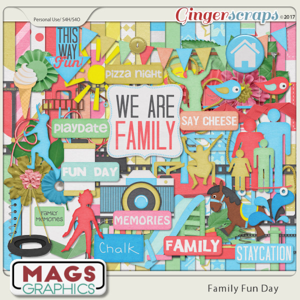 Family Fun Day KIT by MagsGraphics