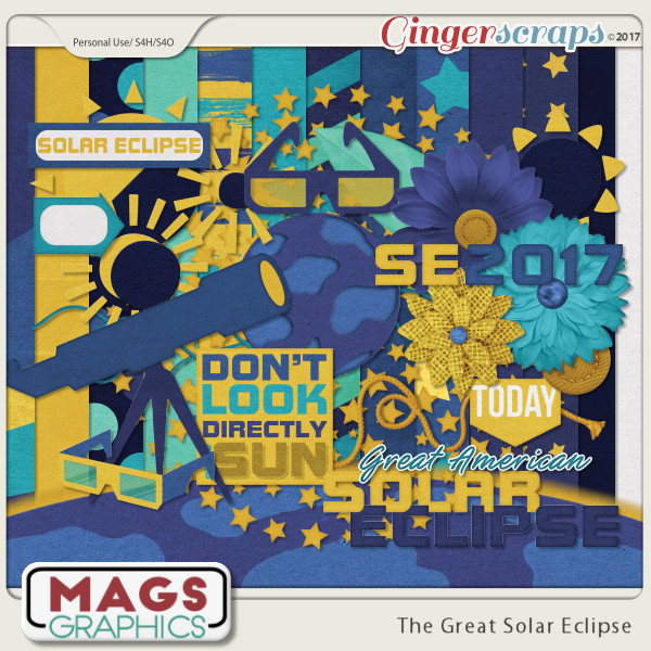 The Great Solar Eclipse KIT by MagsGraphics