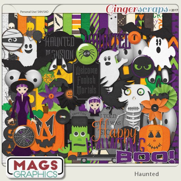 Haunted KIT by MagsGraphics