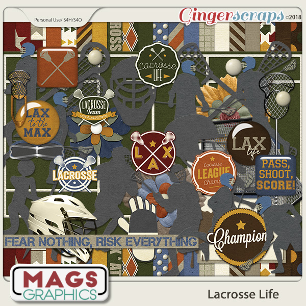 Lacrosse Life KIT by MagsGraphics