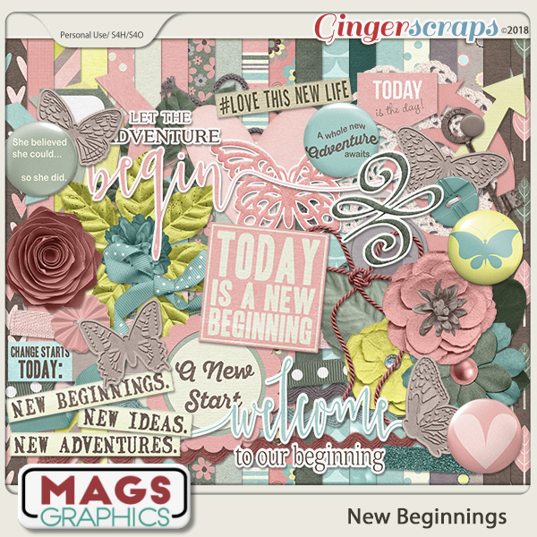 New Beginnings KIT by MagsGraphics