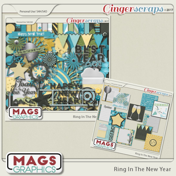 Ring In The New Year BUNDLE by MagsGraphics