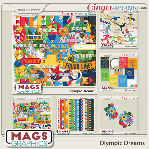 Olympic Dreams BUNDLE by MagsGraphics