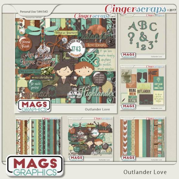 Outlander Love BUNDLE by MagsGraphics