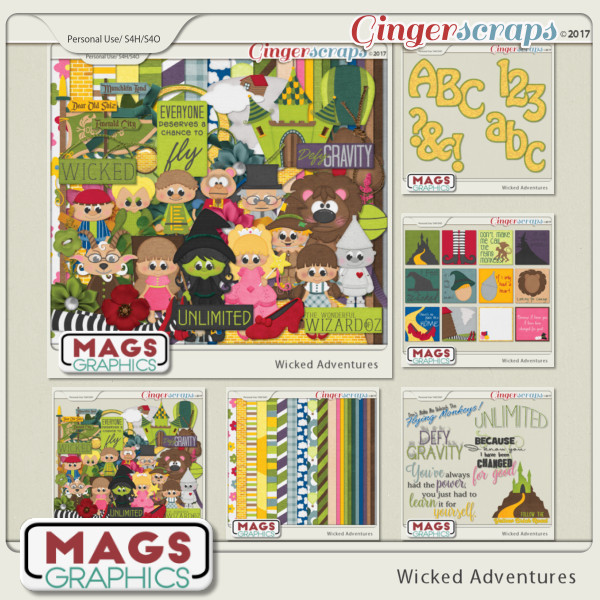 Wicked Adventures BUNDLE by MagsGraphics