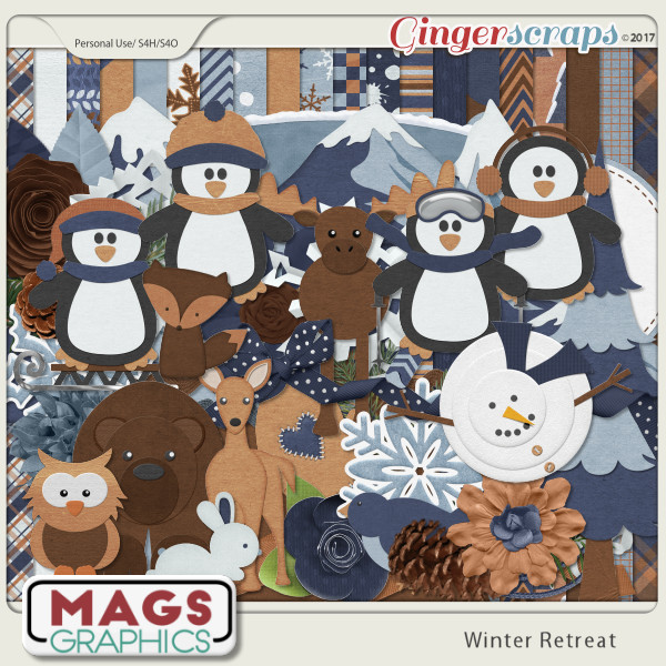 Winter Retreat KIT by MagsGraphics