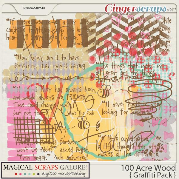 100 Acre Wood (graffiti pack)
