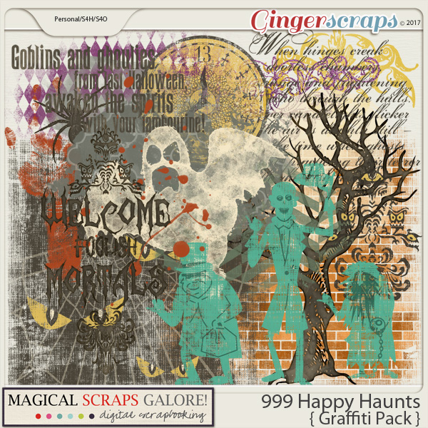 999 Happy Haunts (graffiti pack)