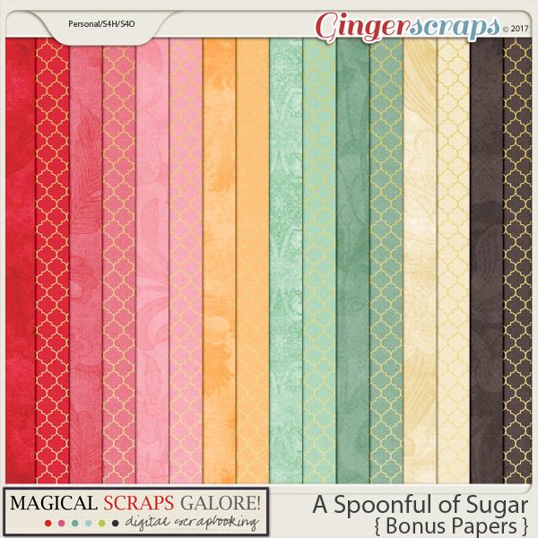 A Spoonful of Sugar (bonus papers)