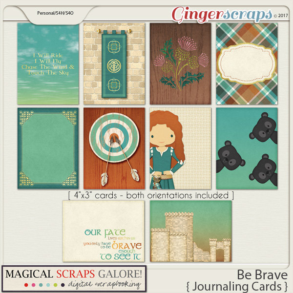 Be Brave (journaling cards)