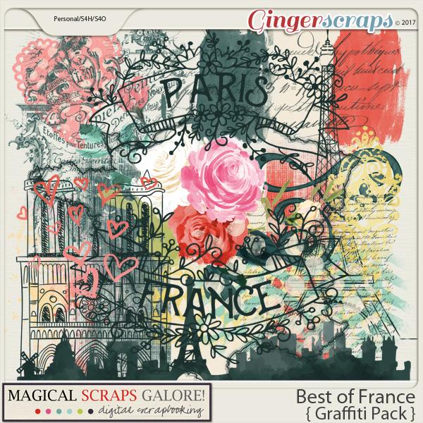 Best of France (graffiti pack)