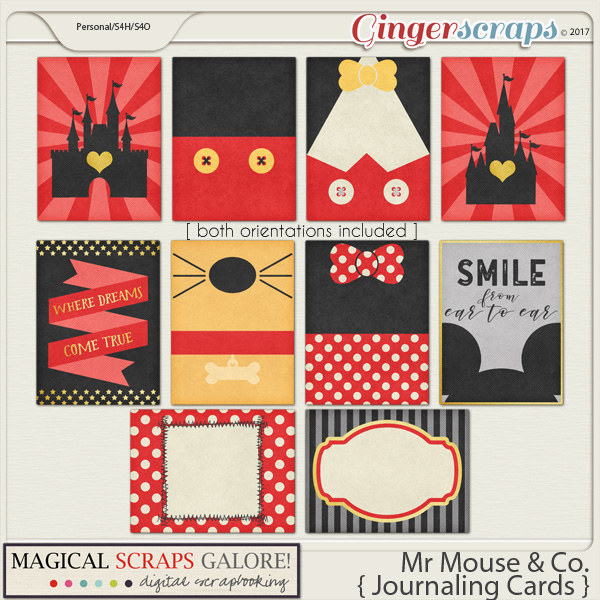 Mr Mouse & Co (journal cards)