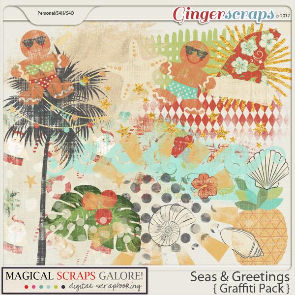 Seas & Greetings (graffiti pack)
